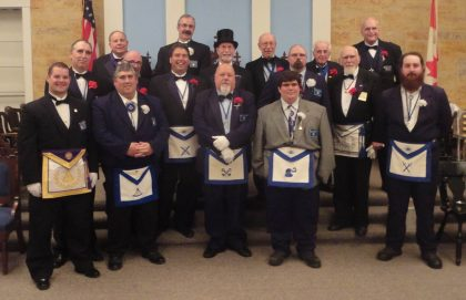 20160607 Fortune #788 Installation of Officers