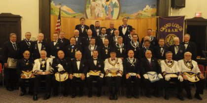 Western Star #1185 Installation of Officers 20160609